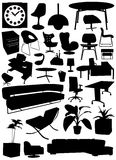 Interior Design Objects Royalty Free Stock Photos