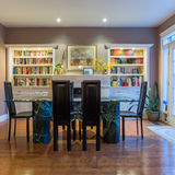 Interior Design Of Dining Room Royalty Free Stock Photography