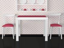 Free Interior Design Of Vintage Kitchen Royalty Free Stock Image - 17338996
