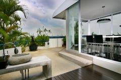 Interior design - outdoor Stock Photo