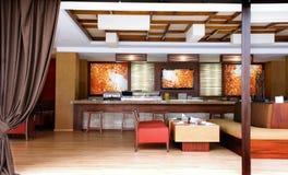 Interior design - Restaurant Royalty Free Stock Photos