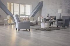 Interior design of room. Interior design of living room stock photography