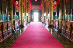 The interior design of the royal pavilion Stock Images