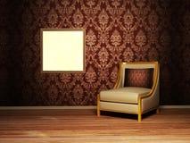 Interior design scene Royalty Free Stock Photography