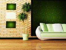 Interior design scene Stock Photos
