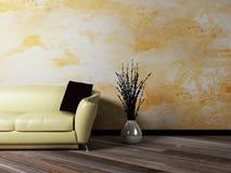 Interior design scene Stock Images