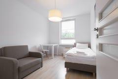 Interior design series: Modern Bedroom Royalty Free Stock Photos