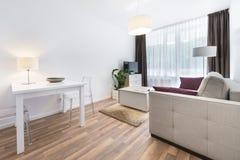 Interior design series: Modern living room Stock Images
