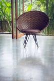 Interior design, sofa furniture contemporary style Royalty Free Stock Photo