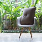 Interior design, sofa furniture contemporary style Stock Image