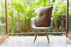Interior design, sofa furniture contemporary style Stock Photography