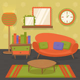 Interior design sofa Royalty Free Stock Photos