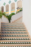 Interior design with a staircase Royalty Free Stock Photography