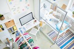 Interior of design studio Royalty Free Stock Photography