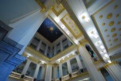 Interior design temple in thailand Stock Photos