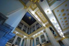 Interior design of thai temple Stock Images