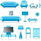 Interior design vector 1 royalty free stock photography