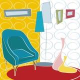 Interior design vector Royalty Free Stock Photos