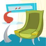 Interior design vector Stock Image