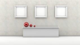 Interior Design Wall Royalty Free Stock Image