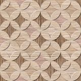 Interior Design wallpaper - Blasted Oak Groove wood texture Stock Image
