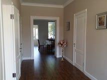 Interior design white doors Stock Image