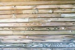 Interior Design - Wooden Wall Royalty Free Stock Photos