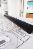 Interior designer tool Stock Photos