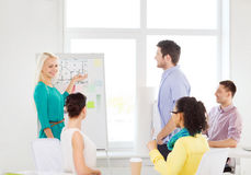 Interior designers having meeting in office Stock Photo