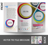 Interior Designers Tri-Fold Brochure Royalty Free Stock Images