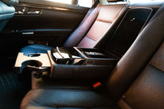 Interior (Designo) de la S-clase usada S350 de Mercedes-Benz de largo (W221 imagenes de archivo