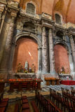 Interior of the destroyed San Domingos Church - Lisbon Portugal Royalty Free Stock Image