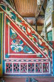 Interior view of Artin, Macahel, Camili Camii& x28;mosque& x29; Royalty Free Stock Image