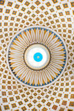 Interior detail of the dome of the Rotunda of Mosta, Malta Stock Images
