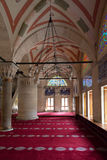 Interior detail from Kilic Ali Pasa Mosque, Tophane, Beyoglu Istanbul, Turkey. Stock Photography