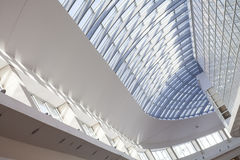 Interior detail. Detail of interior  modern building ceiling Royalty Free Stock Images