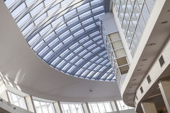 Interior detail. Detail of interior  modern building ceiling Stock Image