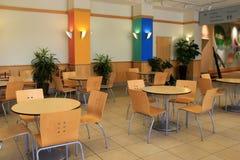 Interior detail shot of dining area, Cleveland Botanical Garden, Ohio, 2016 Royalty Free Stock Photography