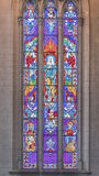 Interior Detail View of Neo Gothic Church Royalty Free Stock Photography