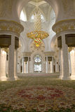 Mosque Interior Royalty Free Stock Image