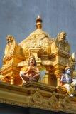 Interior details of a Hindu Temple Kovil in Colombo, Sri Lanka. Stock Image