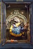 Interior details of a Hindu Temple Kovil in Colombo, Sri Lanka. Stock Photography