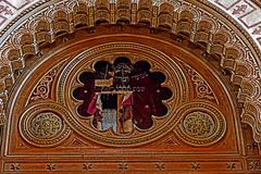 Interior details of an old synagogue 3 Royalty Free Stock Photos