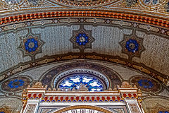 Interior details of an old synagogue Royalty Free Stock Images