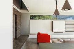 Interior, detalle de la sala de estar Foto de archivo