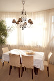 Interior of dining room Royalty Free Stock Photography