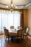 Interior of a dinning room Royalty Free Stock Photos