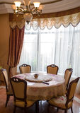 Interior of a dinning room Royalty Free Stock Photo