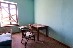 Interior of a dirty  abandoned room Royalty Free Stock Photos