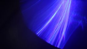 Interior of Disco light in the pub stock footage